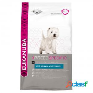 Eukanuba breed specific west highland white terrier pour chien 3 x 2.5 kg