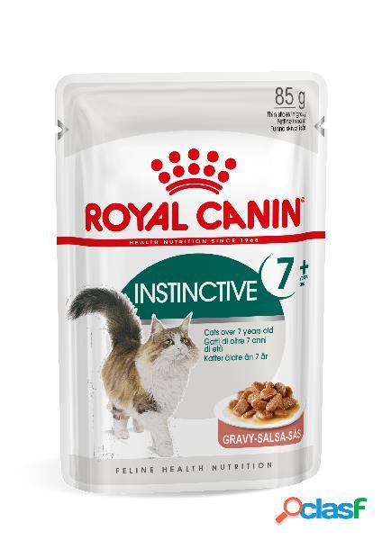 Royal canin instinctive 7+ pour chat 12 sachets 2 x en sauce