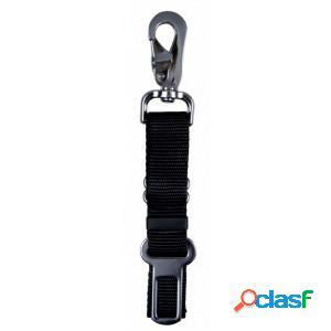 Laisse intermédiaire pour ceintures de sécurité mousqueton (45cm-75cmx25mm) par unité