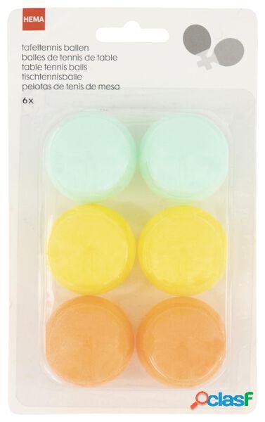 Hema 6 balles de ping-pong