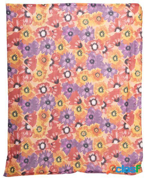 Hema rideau de douche textile 180x200 fleur