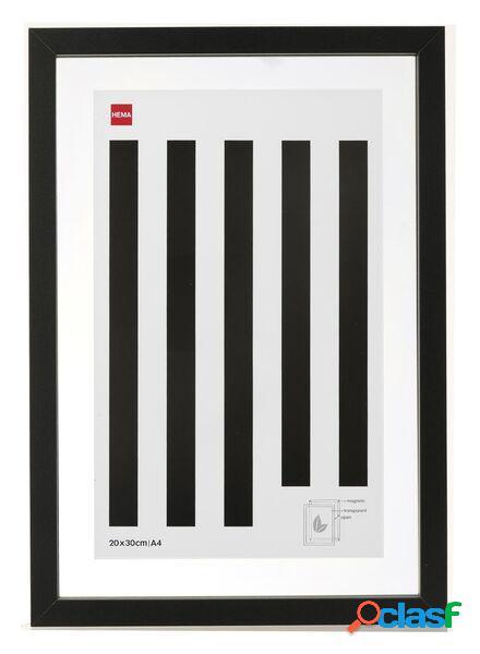 Hema cadre photo magnétique 20 x 30 cm (noir)
