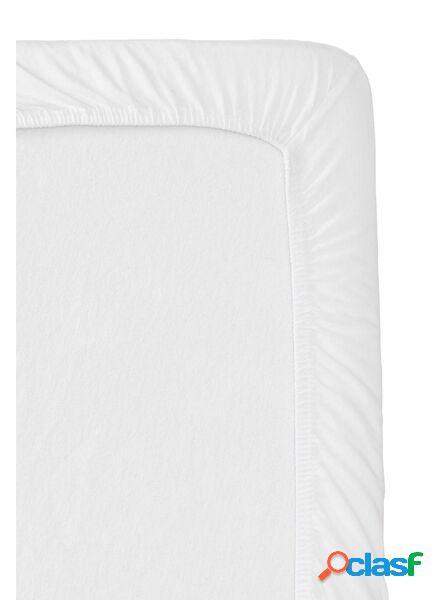 Hema drap-housse surmatelas - percale de coton blanc (blanc)
