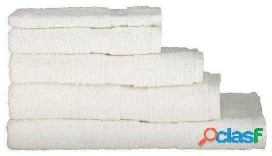 Hema serviettes de bain - qualité épaisse blanc (blanc)