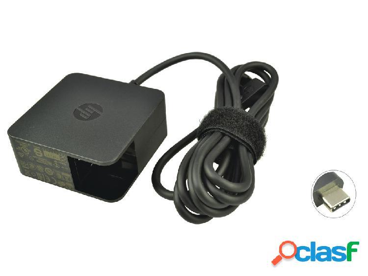 Chargeur ordinateur portable 1he07aa - piã¨ce d'origine hp