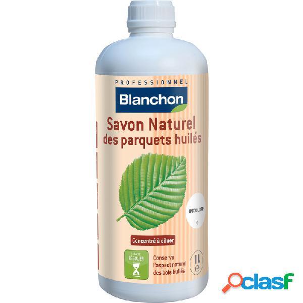 Savon naturel des parquets huilés blanchon 1l - incolore