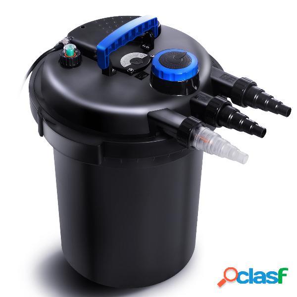 Costway filtre de bassin kit de filtration pour bassin