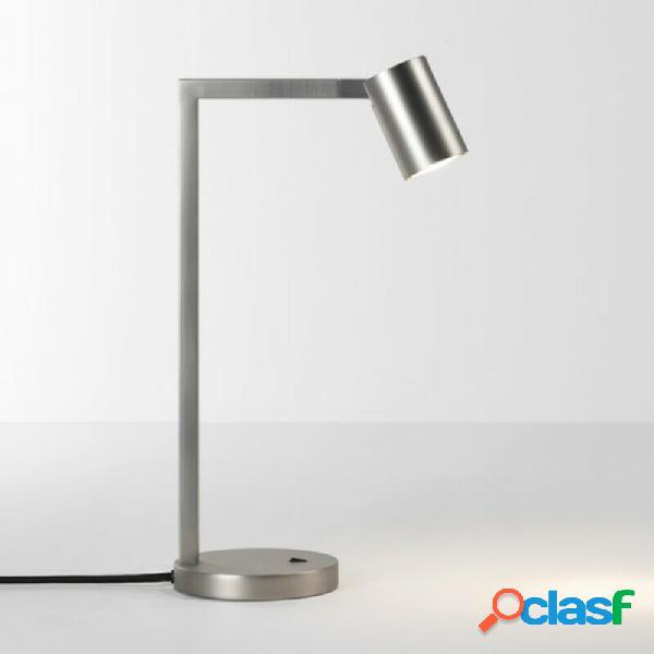 """""""lampe de bureau led ascoli desk - nickel"""""""