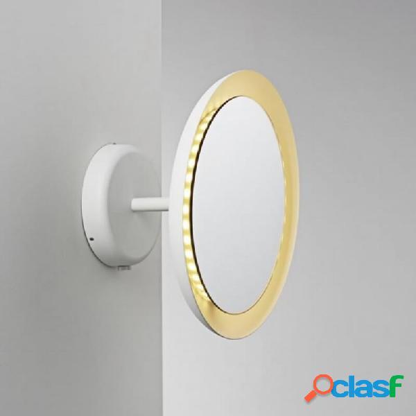"""miroir lumineux salle de bain ip s10 ip44 - blanc"""