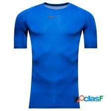 Nike pro compression - bleu/noir