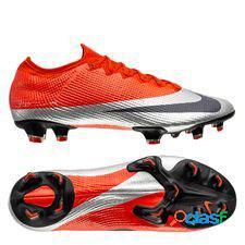 Nike mercurial vapor 13 elite fg future dna - orange/argenté/noir édition limitée