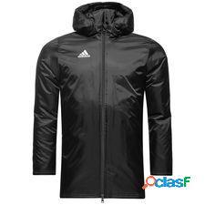 Adidas manteau d'hiver core 18 - noir/blanc enfant