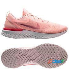 Nike chaussures de running odyssey react - rose femme
