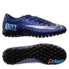 Nike mercurial vapor 13 academy tf dream speed - bleu/jaune fluo/noir