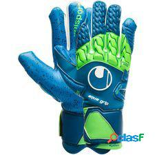 Uhlsport gants de gardien aquagrip hn - bleu/vert/blanc