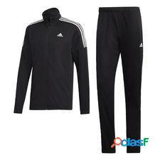 Adidas survêtement team sports - noir/blanc