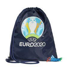 Adidas sac de sport euro 2020 - bleu marine/turquoise