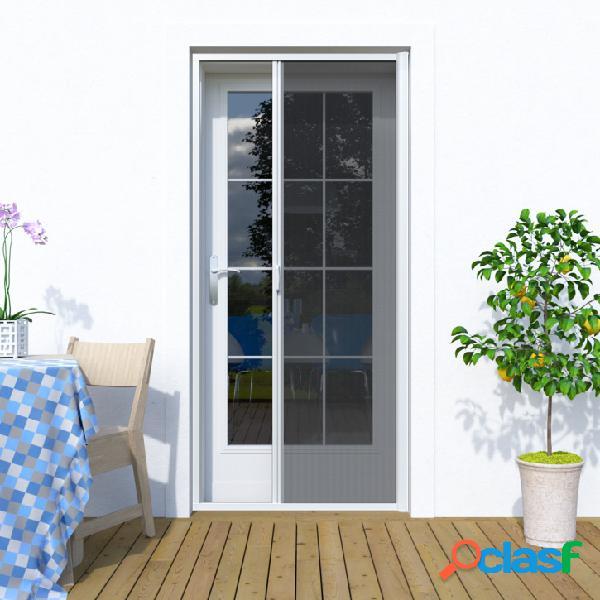 Moustiquaire enroulable latérale pour porte, profils en aluminium, sur mesure,
