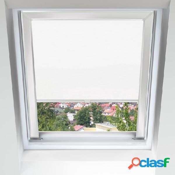 Store pour fenêtres de toit, pour fenêtres velux, fakro, roto, okpol, rooflite & dakstra, sur mesure, occultants et tamisants, blanc crème