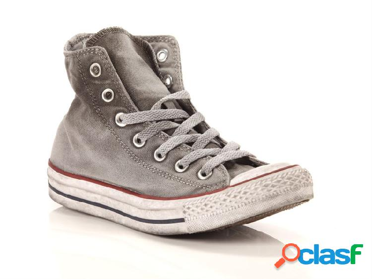 Converse chuck taylor all star high canvas ltd op white smoke in, 36, 36½, 37, 37½, 38, 39, 39½, 40, 41, 41½, 42, 42½, 43, 44, 44½ gris
