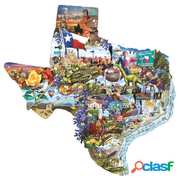 Puzzle lori schory - welcome to texas! sunsout