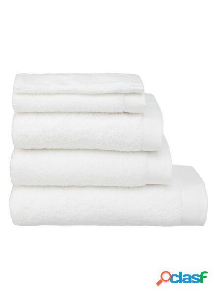 Hema serviettes de bain - hôtel extra doux blanc (blanc)