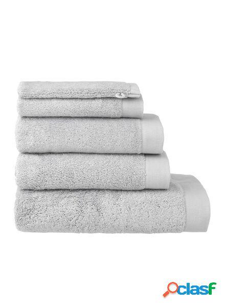 Hema serviettes de bain - hôtel extra doux gris clair (gris clair)