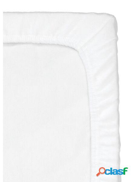 Hema drap-housse molleton berceau 40 x 80 cm (blanc)