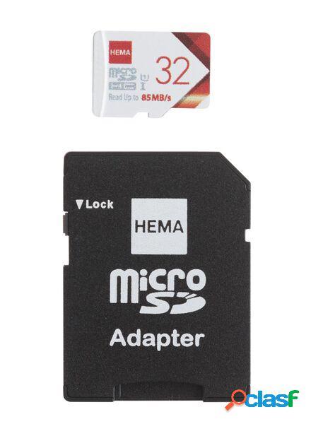 Hema carte mémoire micro sd 32 go