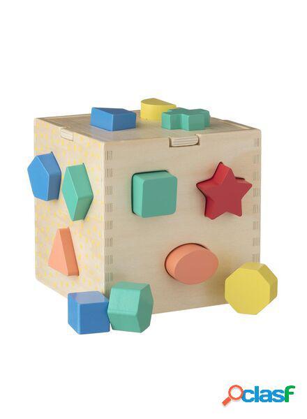 Hema boîte à formes en bois