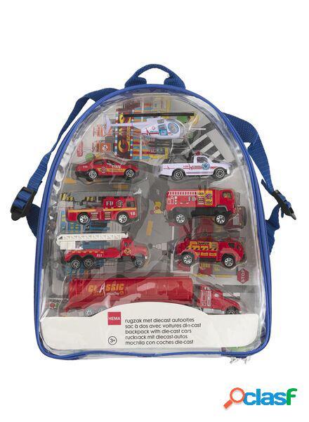 Hema sac à dos avec voitures diecast
