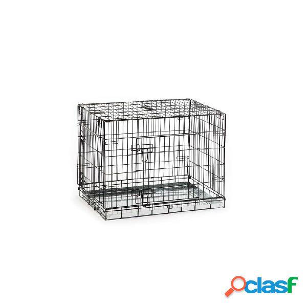 Cage pour chien beeztees, 2 porte, 78 x 55 x 61