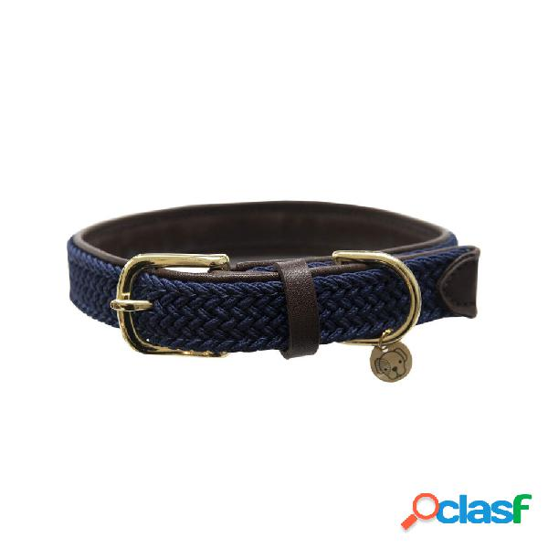 Collier de chien nylon tressé kentucky