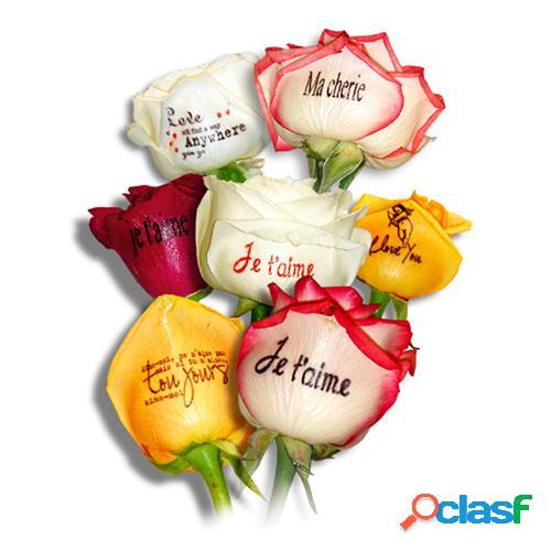 """Livraison de roses bouquet """"je t'aime"""""""
