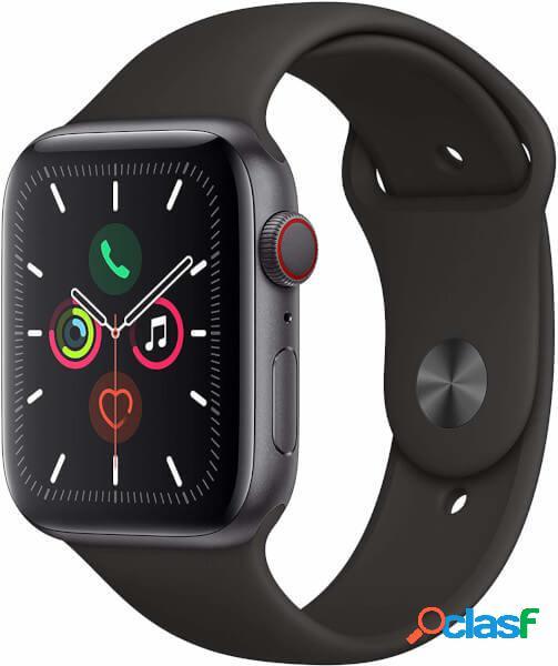 Apple watch series 5 gps + celular, boîtier 40mm aluminium gris espac