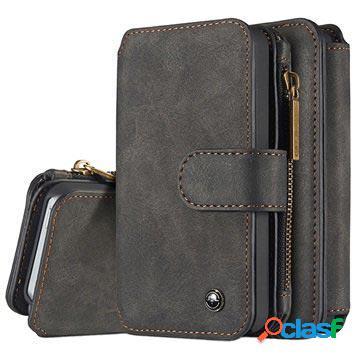 Iphone 5/5s/se caseme multifunctional wallet leather case - black