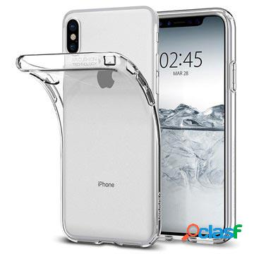 Coque spigen liquid crystal pour iphone x / iphone xs - transparente
