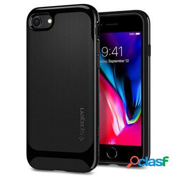 Coque spigen neo hybrid herringbone pour iphone 7/8/se (2020) - noire
