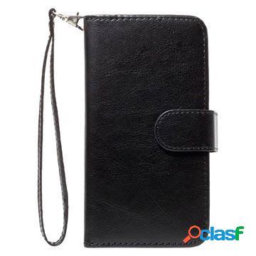 Etui portefeuille détachable 2 en 1 pour iphone x / iphone xs - noir