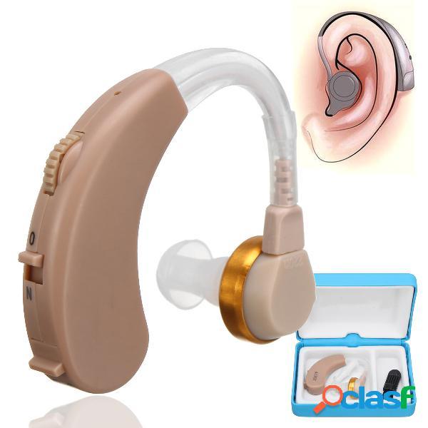 Mini amplificateur de voix audio portable d'aide auditive derrière l'amélioration de l'oreille oreille aide auditive oreille soins