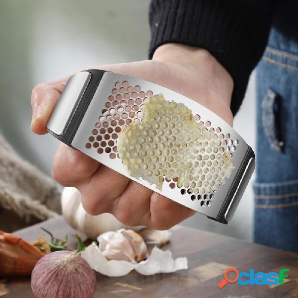 Outil kichen à bascule innovant en acier inoxydable pour presse-ail