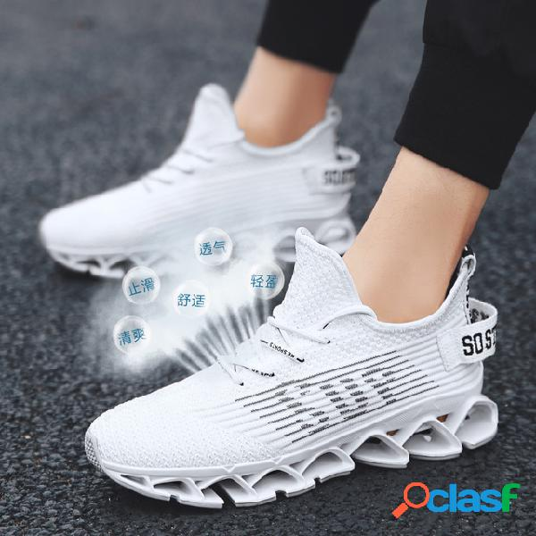 Chaussures pour hommes de la saison new coconut shoes chaussures de marée pour hommes respirant flying woven sports shoes running chaussures casual