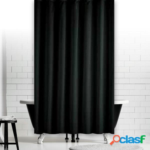 Rideau noir de fenêtre de douche imperméable à la mode de décoration de maison d'hôtel de drapé