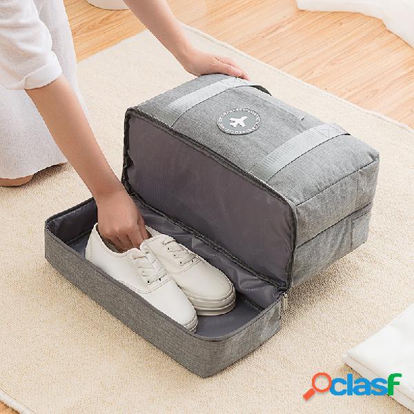 Sac de séparation de voyage sec et humide sac de remise en forme sac de rangement pour vêtements cationiques sac de sport portatif