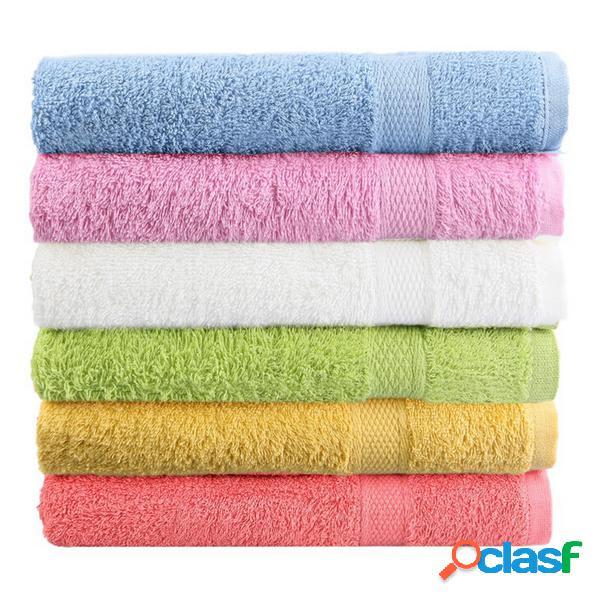 Serviette de plage 80x50cm soft cotton bath serviette de plage super absorbent loose terry face towel