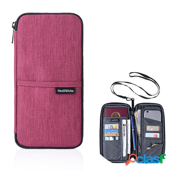 Voyage multi-slots titulaire de passeport organisateur couverture carte sac passeport passeport sac de stockage de téléphone
