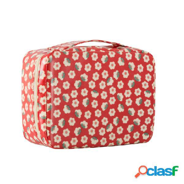 Voyage sac cosmétique sac de lavage sac de tri de stockage de salle de bain