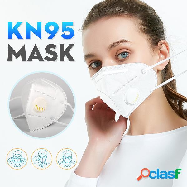 Masques kn95 avec valve respiratoire réussi le masque de protection du filtre gb-2626-kn95 test pm2.5