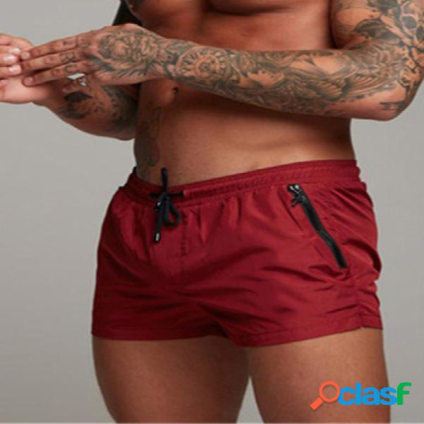 Mens beach board shorts imperméable jogging running sports respirant gym training fitness pants