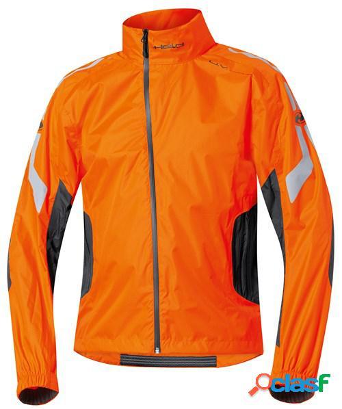 Held wet tour, veste de pluie moto, noir orange fluo